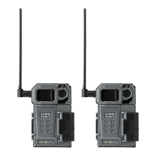 Pack Twin caméras Link Micro LTE anthracite - Spypoint