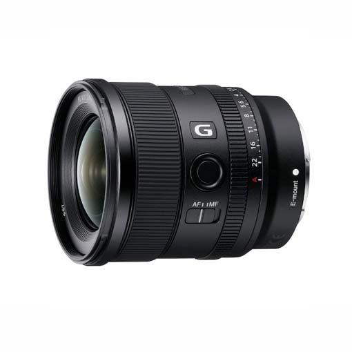 Objectif Sony FE 20 mm f/1,8 G