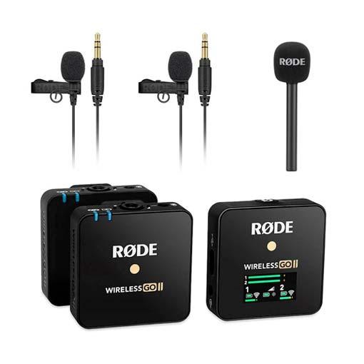 Kit interview Rode Wireless Go II