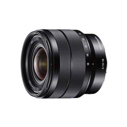Objectif SONY E 10-18mm F4