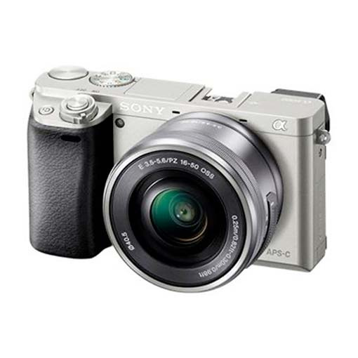 Pack Sony Alpha 6100 Silver + objectif zoom 16-50mm