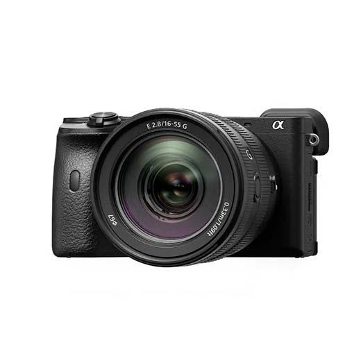 Pack Sony Alpha 6600 Noir + objectif SEL 16-55mm f/2,8 G