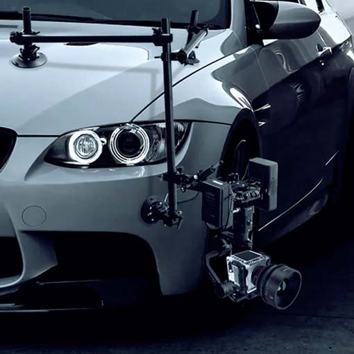 HULK Universal Gimbal Car Mounting System - DigitalFoto