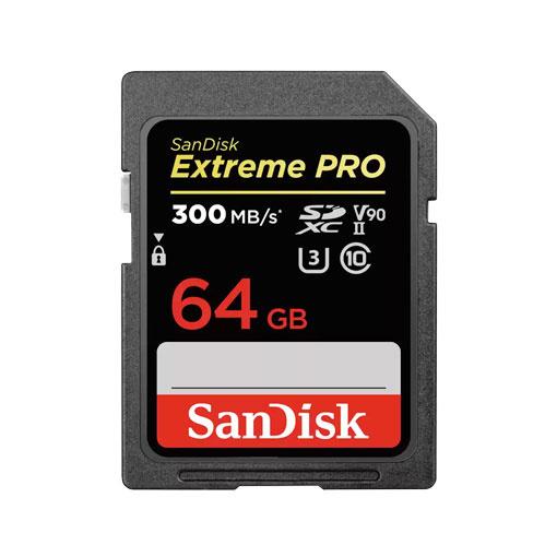 Carte SanDisk Extreme PRO® SDHC™ et SDXC™ UHS-II 64 Go