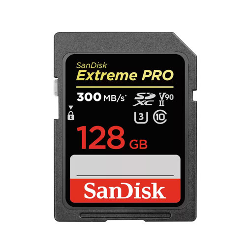 Carte SanDisk Extreme PRO® SDHC™ et SDXC™ UHS-II 128 Go