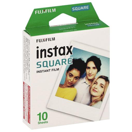 Fujifilm - MonoPack 10 films Instax Square