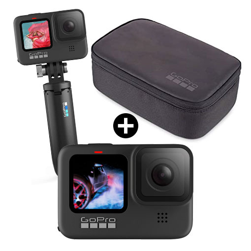Pack GoPro HERO9 Black + Travel Kit