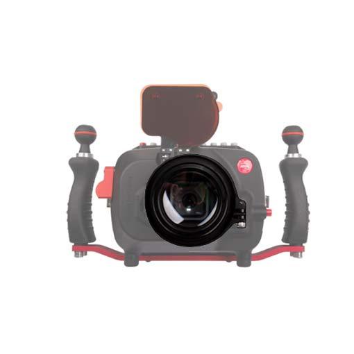 Flip et lentille macro M67 pour caisson Hugyfot vision XS GP9/GP10