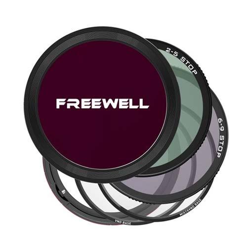 Système de filtres magnétiques VND 77mm - Freewell