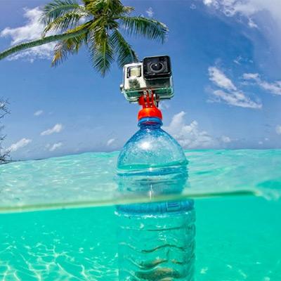 bottle mount gopro accessoire