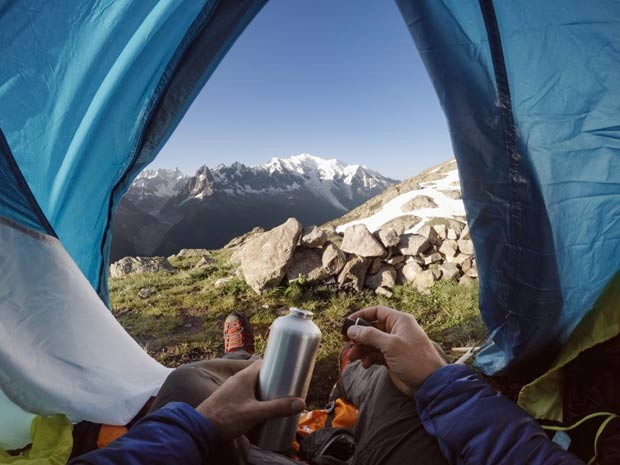 vacances camping gopro