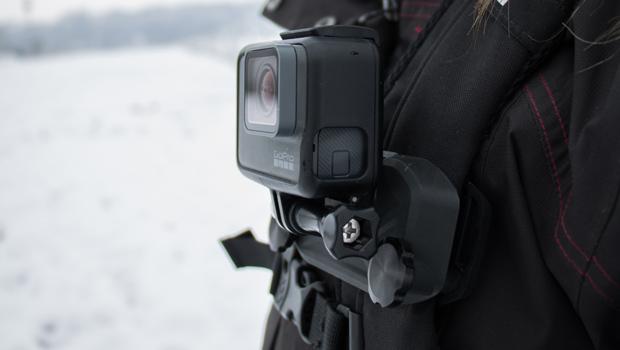 Gopro À LceBlog Sac Caméra TestFixation Dos Embarquée Pour La CBedrxo