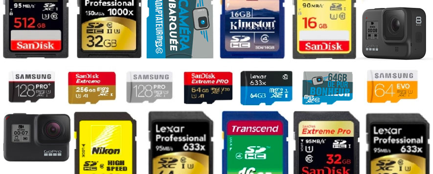 quelle carte sd pour gopro Quelle carte mémoire microSD choisir pour sa GoPro ? | La Caméra