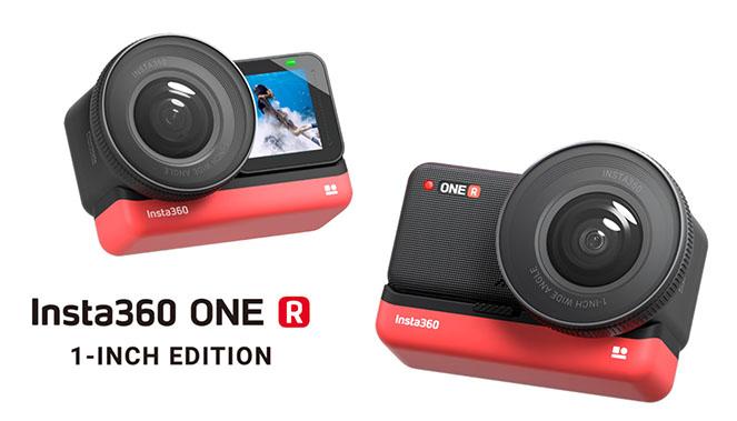 Insta360 ONE R : une caméra modulable
