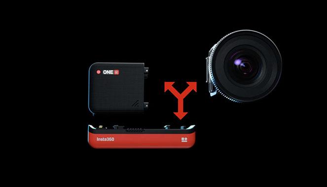 Insta360 ONE R avec de nombreux modes photo et vidéo