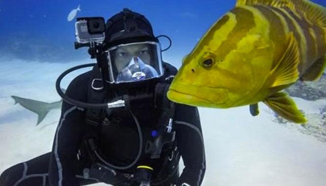 caisson de plongée pour GoPro