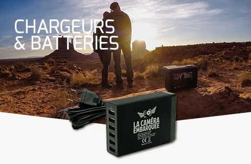 CHARGEURS & BATTERIES