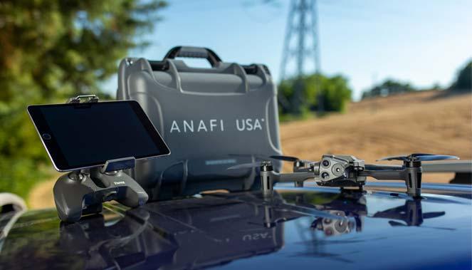 DroneAnafiParrotUSA