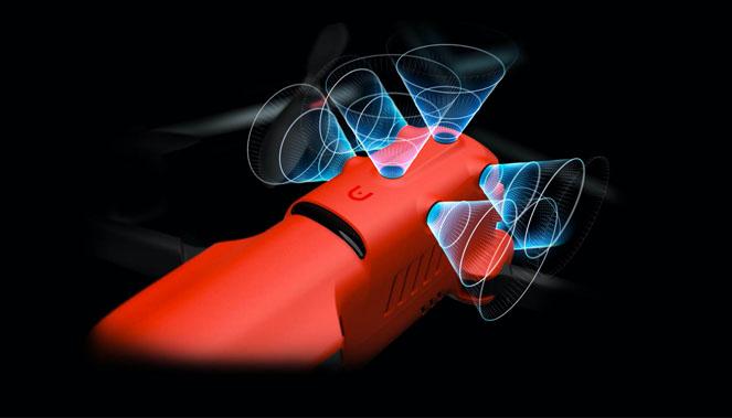 Drone Autel Evo II 8k : une protection omnidirectionnelle