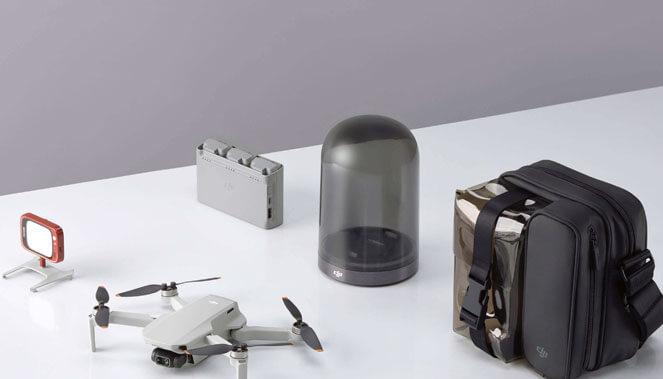 DJI MINI 2 Fly More Combo : le plein d'accessoires