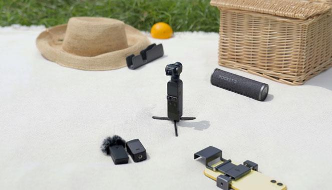 La gamme d'accessoires du DJI Pocket 2