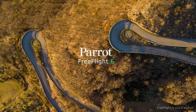 Application FreeFlight 6 par Parrot
