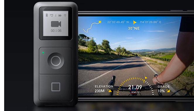 GPS télécommande pour Insta360 ONE R