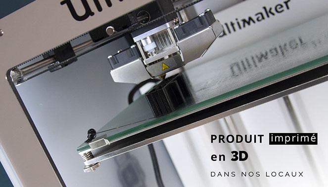 Imprimé en 3D dans nos locaux