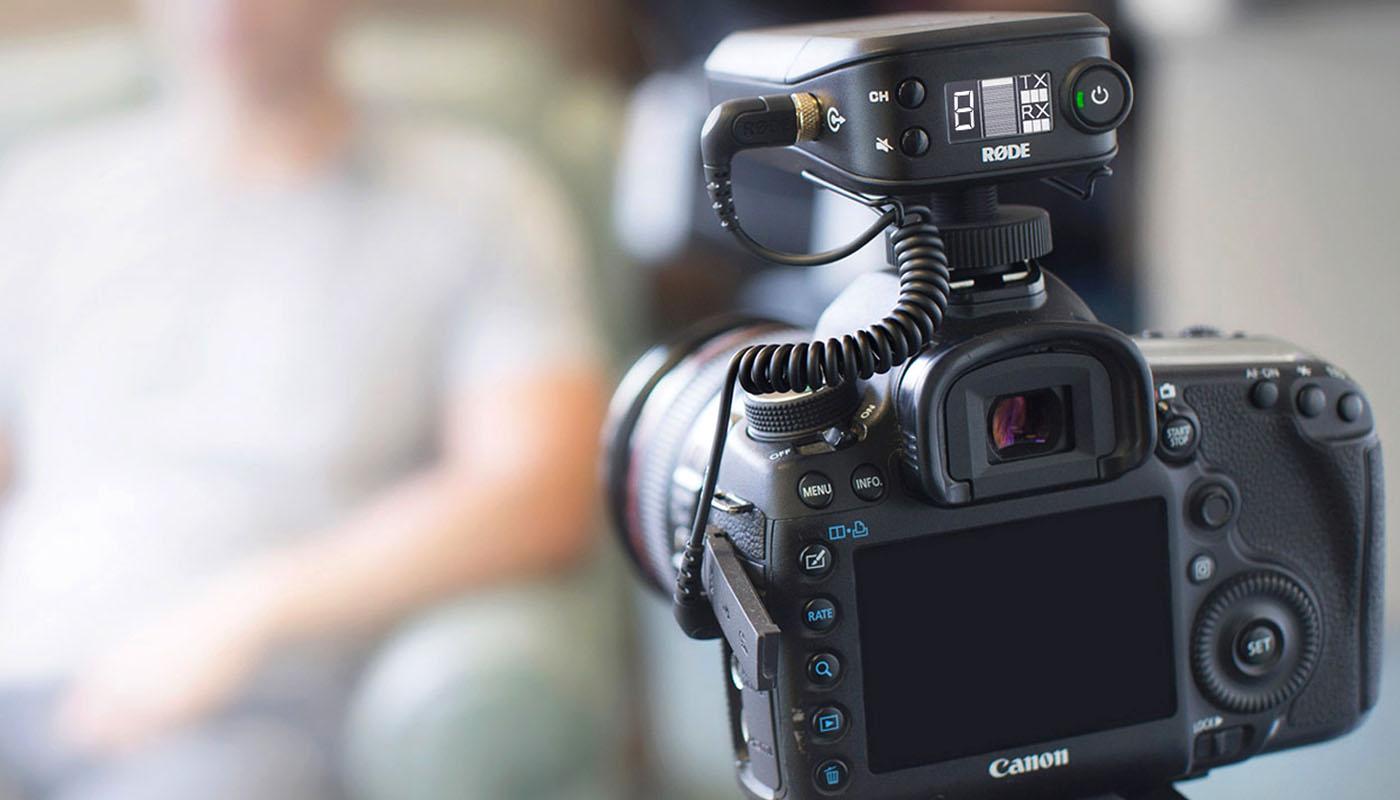 micro rode rodelink filmmaker kit
