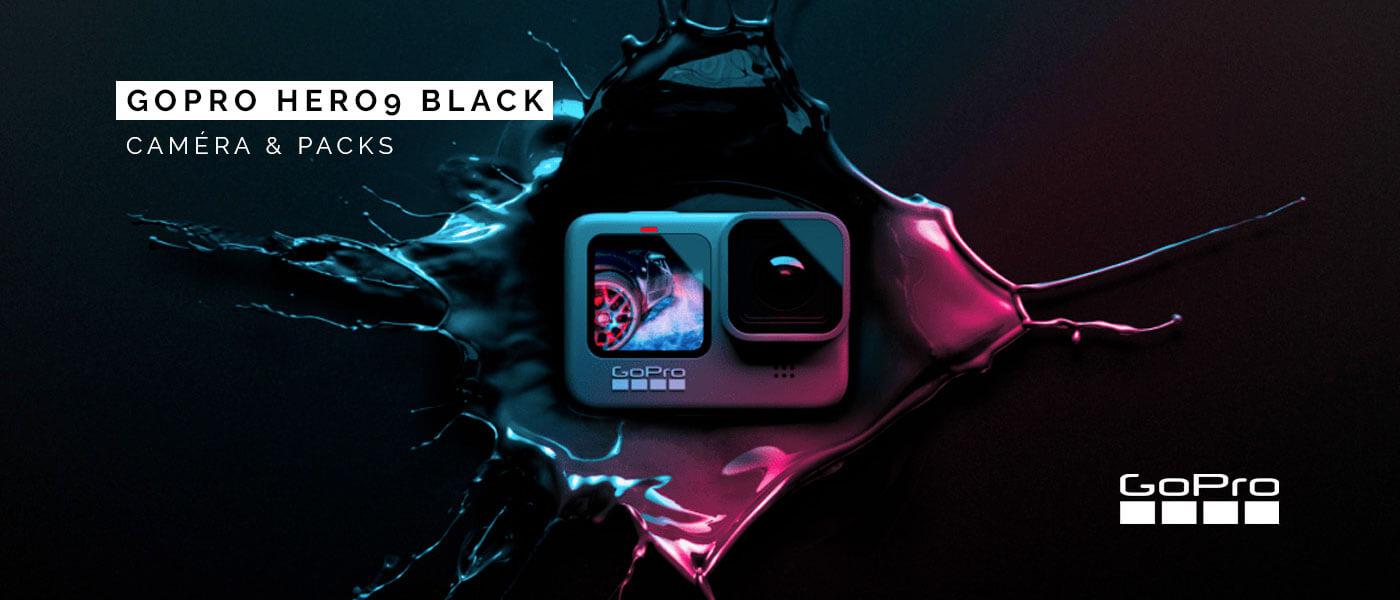 GoPro HERO9 Black et packs !