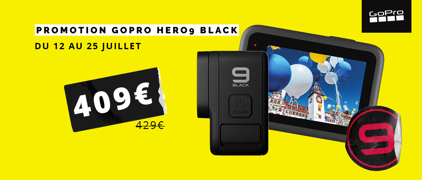 Promotion GoPro HERO9 Black !
