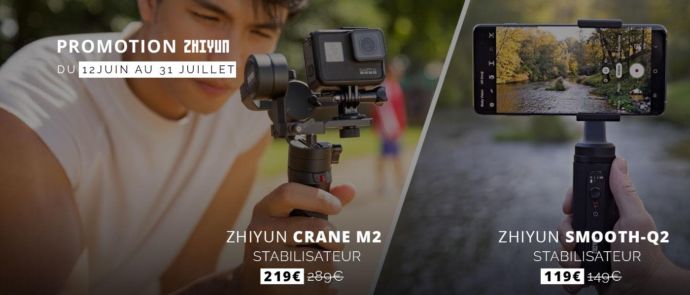 Promotion Zhiyun
