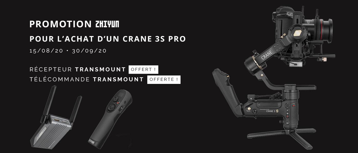 Promo Zhiyun Crane  3S Pro